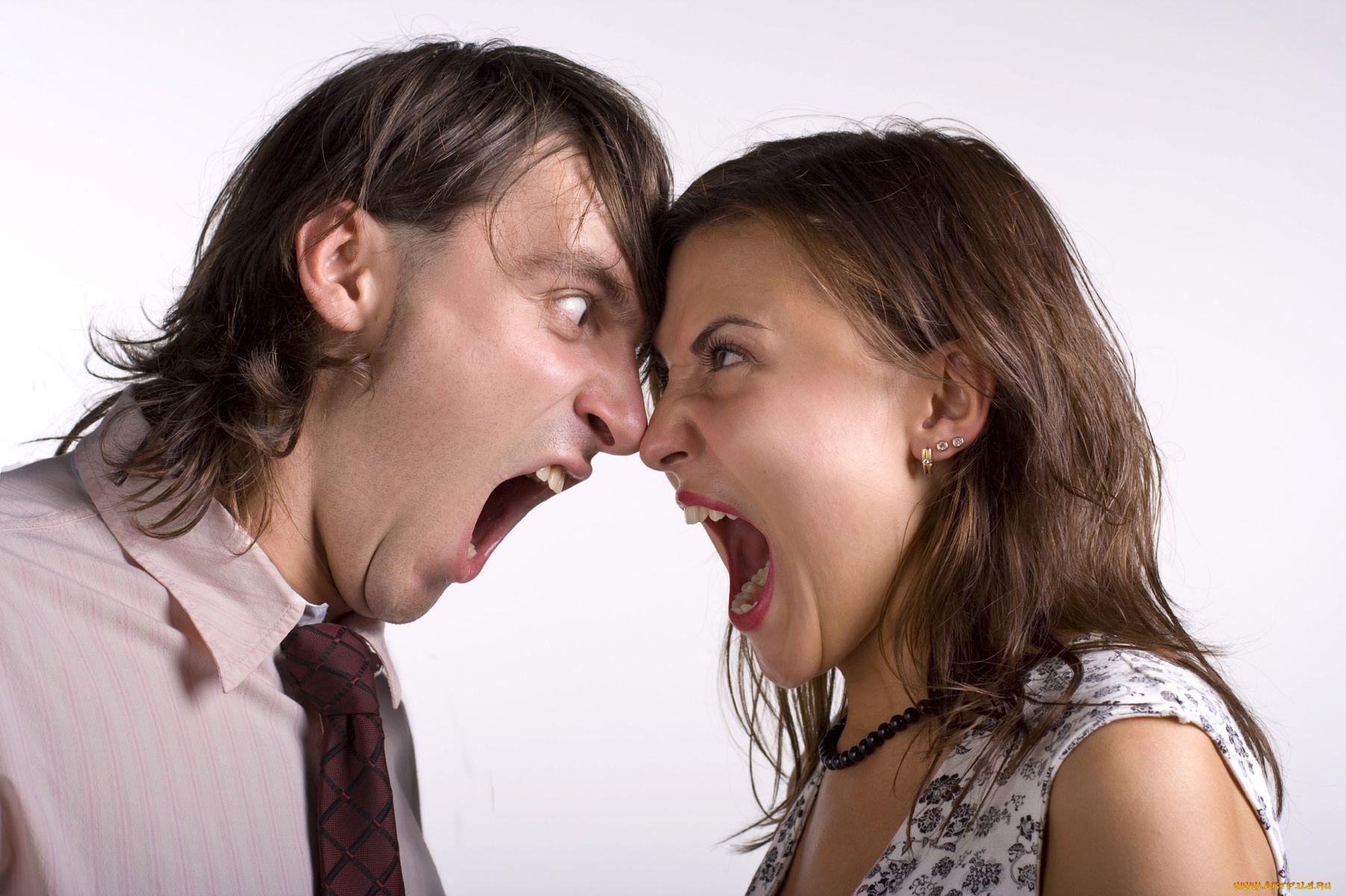 Картинки ссора мужчины и женщина